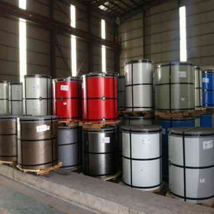 PPGI color coated steel coil supplier in china