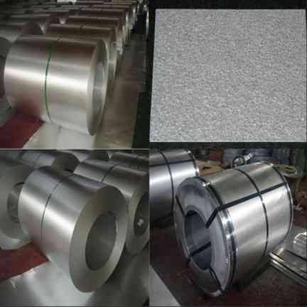 Aluminum zinc coil in rolled