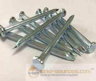 Galvanized concrete steel nails/bulk nails factory