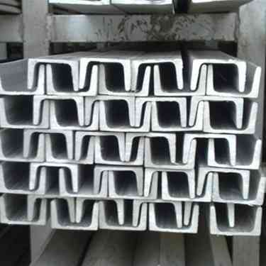 Q235 galvanized u steel channel supplier for building