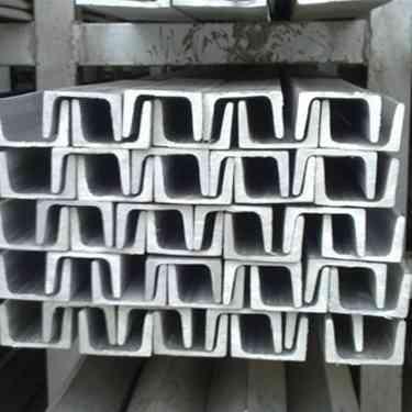 Q235 galvanized u steel channel supplier for building
