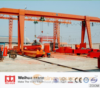 China Customized 20 Ton MH Model Single Beam Electric Gantry Crane For Sale