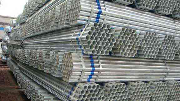Pre galvanized steel pipes