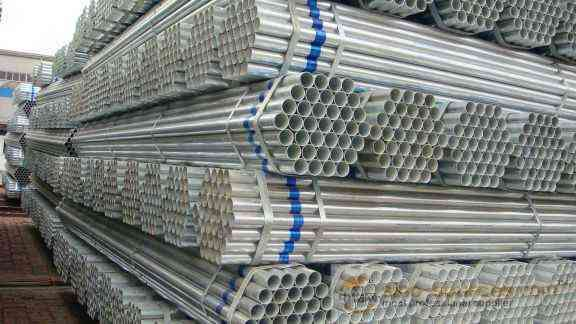 Pre galvanized steel pipes1