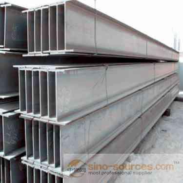 galvanized steel h channel steel supplier