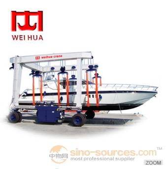 200 Ton Marine Well Dock Boat Lifting Equipment Yacht Crane Machine