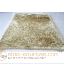 Factory custom qualified soft anti-slip simple shaggy carpet