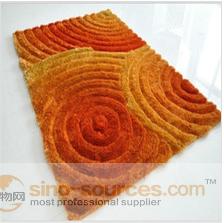 Easy cleaning modern design carpet for home or restaurants
