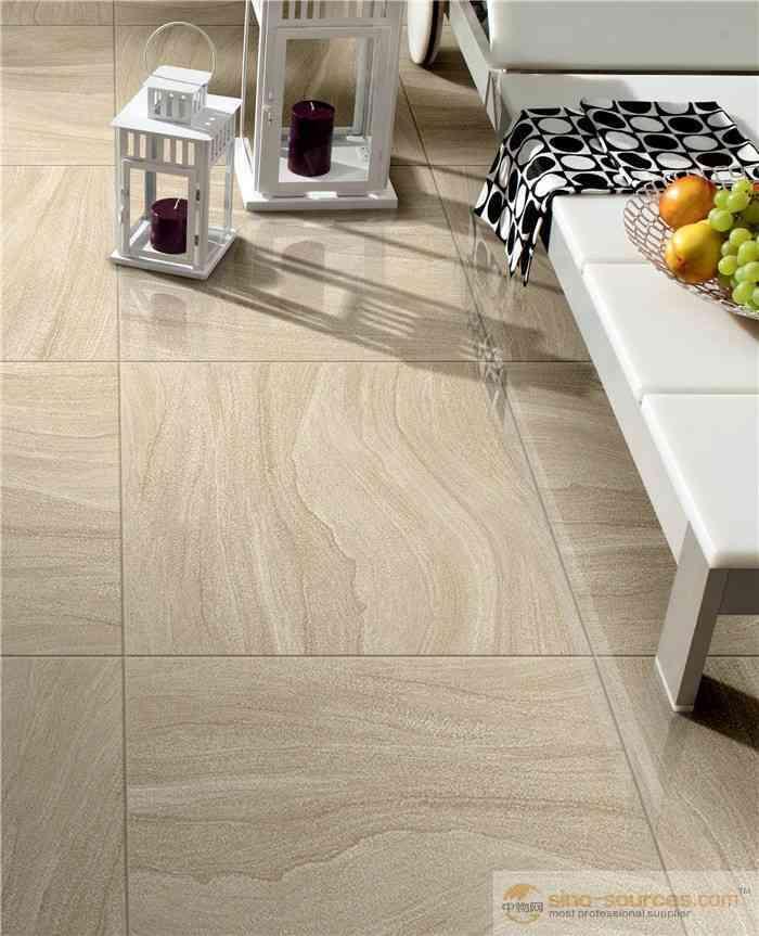 China Supplier For Non Slip Full Polished Sandstone Floor Tiles