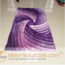 good design and customized polyeser home decoration handmade Carpet