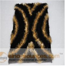 polyester shaggy 3D plush carpet