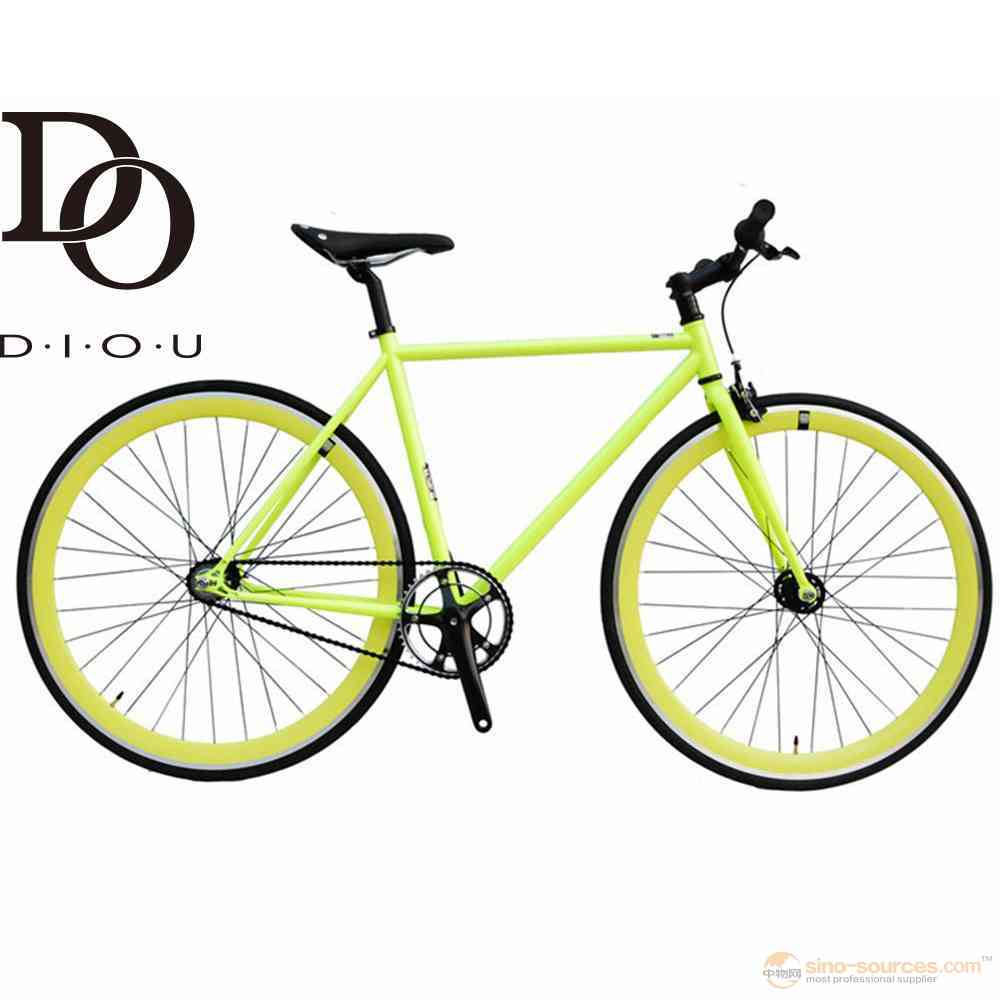 Factory supply high carbon Steel Single Speed fixed gear bike can OEM