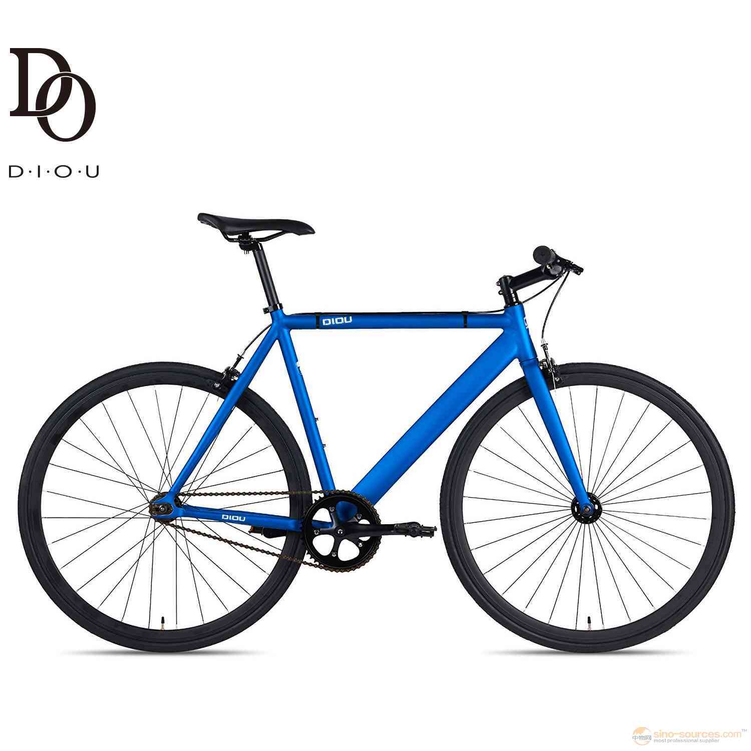 factory Fixed Gear Single-Speed blue bike