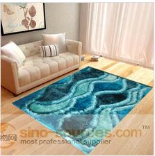 long pile 3d design polyester shaggy carpet for home