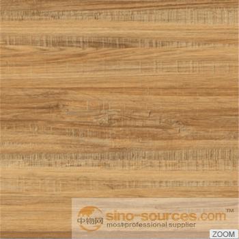 Chinese glaze rustic wood look matt ceramic floor tile