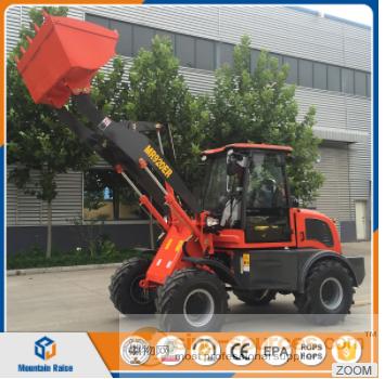 Manufacturer CE Approved zl15 Mini Wheel Loader in European Market