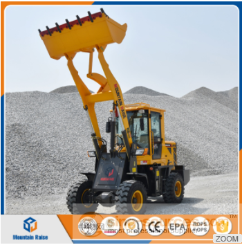 1200kg-1500kg CE Approved Compact Mini Loader with Big Wheels