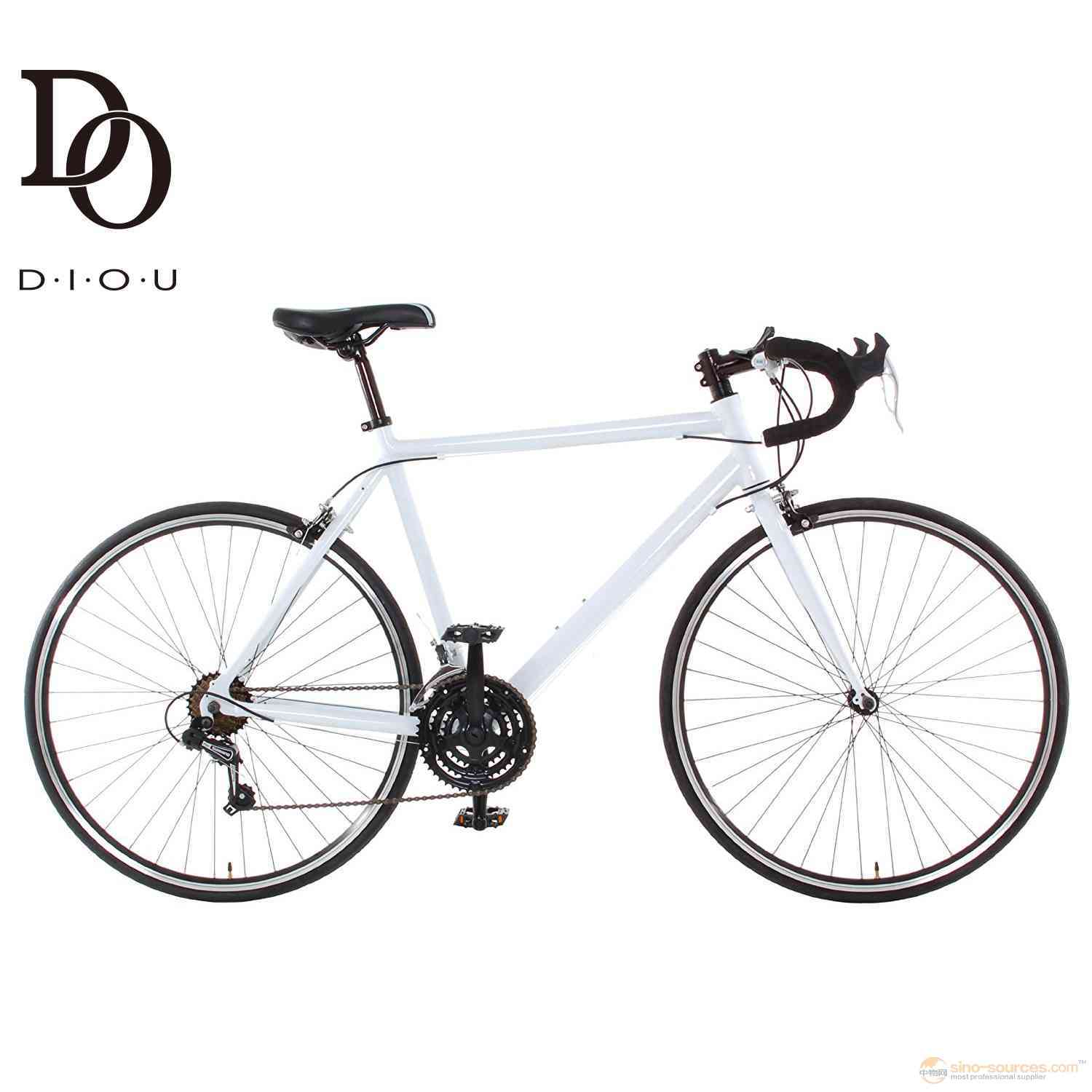 Aluminum 21 Speed 700c white Road Bike