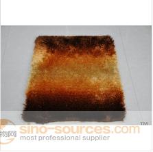 100% polyester indoor outdoor gradient color carpet