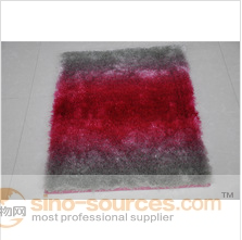 100% shaggy soft touch silk bedroom home carpet underlay