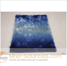 100% polyester shiny cozy elegant sublime rich shaggy carpet