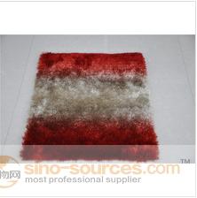 good feeling 100% polyester silk soft shaggy baby carpet & rug