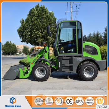 Hydraulic Automatic zl08f Mini Wheel Loaders Made in China