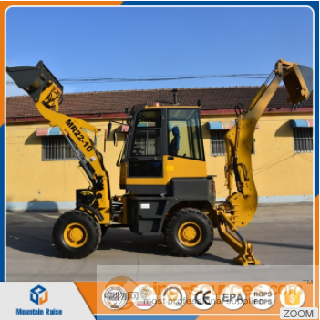 China mini excavator mini backhoe loader MR22-10 compact tractor