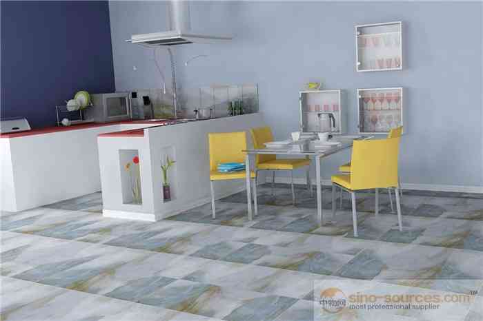 Factory price glazed rustic zibo hotel flooring tiles in India