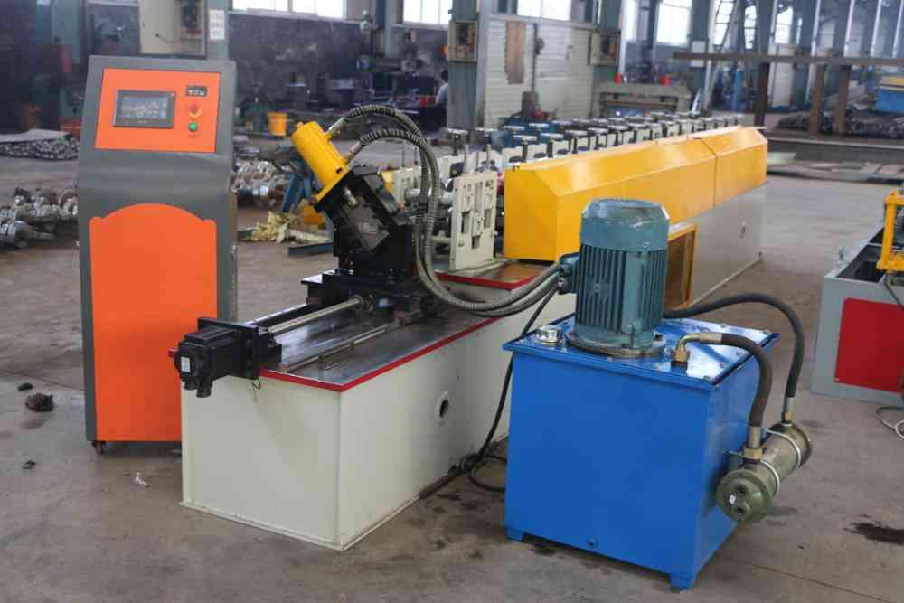 Gypsum board profile machine production line for cd ud cw uw