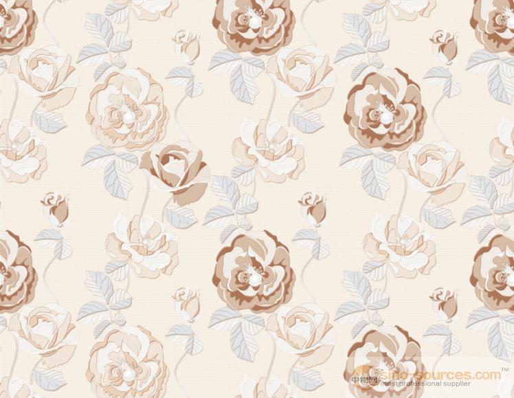 Flower Ceramic Wall Tiles White Ceramic Floor Tile 600x600