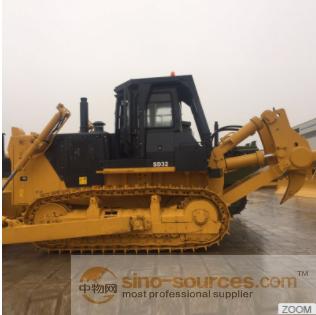 Hydraulic shandong bulldozer with high efficency