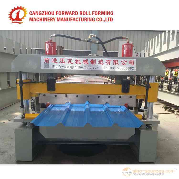 Cheap Portable Roof Panel Roll Forming Machine Steel Plate Forming Machine