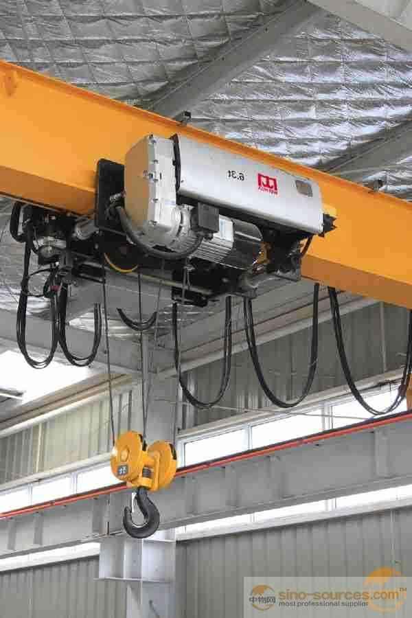 LD Motor Drive 5Ton Lifting Capacity Single Girder Overhead Top Running Crane