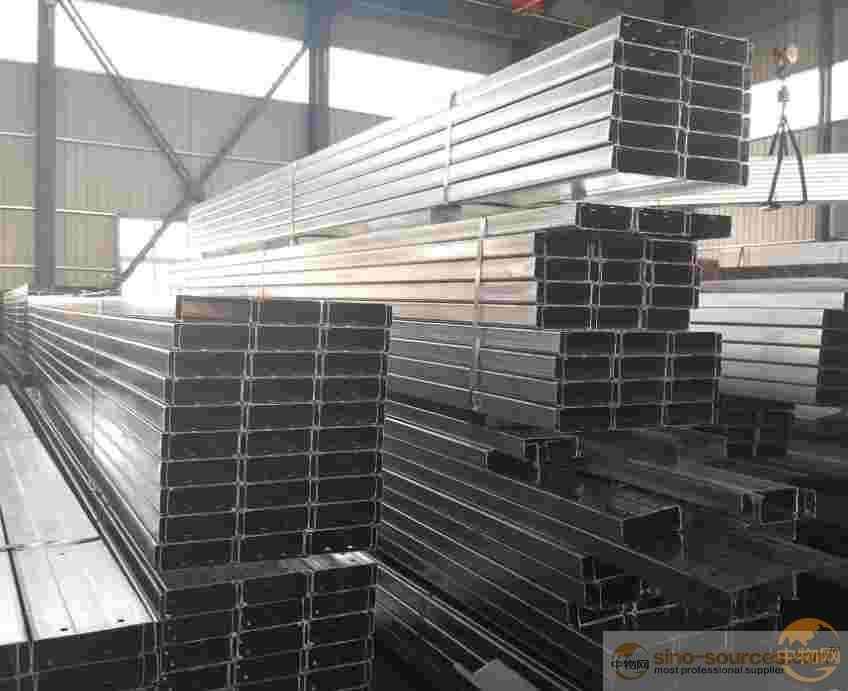 PRE GALVANIZED Steel Profile C Purlin