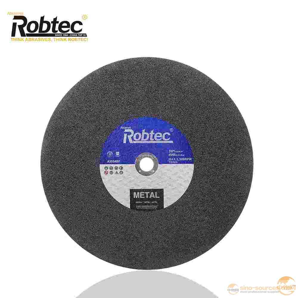 16 inch ROBTEC 400mm Cutting Disc For INOX, MPA Verified Cutting Wheel/Disk