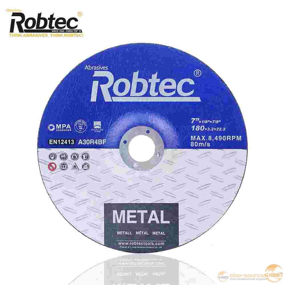 "7""  cutting wheel for metal & general steel"