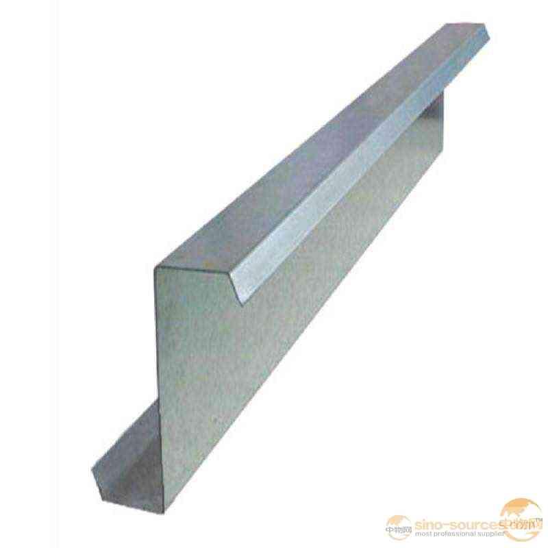 Greenhouse galvanized steel z purlin