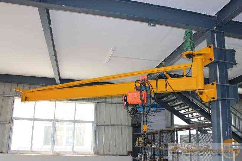 5 Ton Electric Mobile Wall Mounted Jib Crane with Hoist