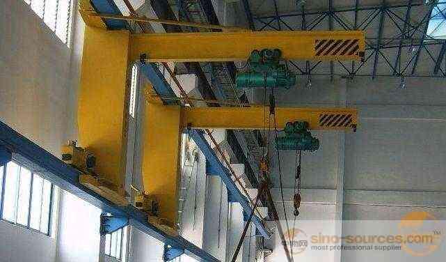 10 Ton Electric Wall Traveling Jib Crane With Hoist