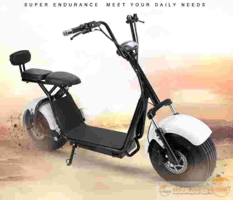 Energy Saving Hydraulic Disc Brake Electric Motorcycle