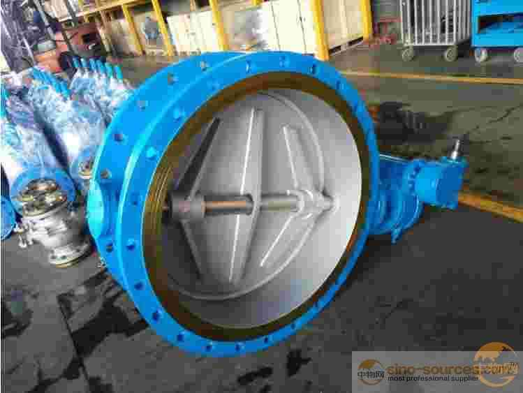 Ductile Iron Worm Gear Actuated Eccentric Butterfly Valve
