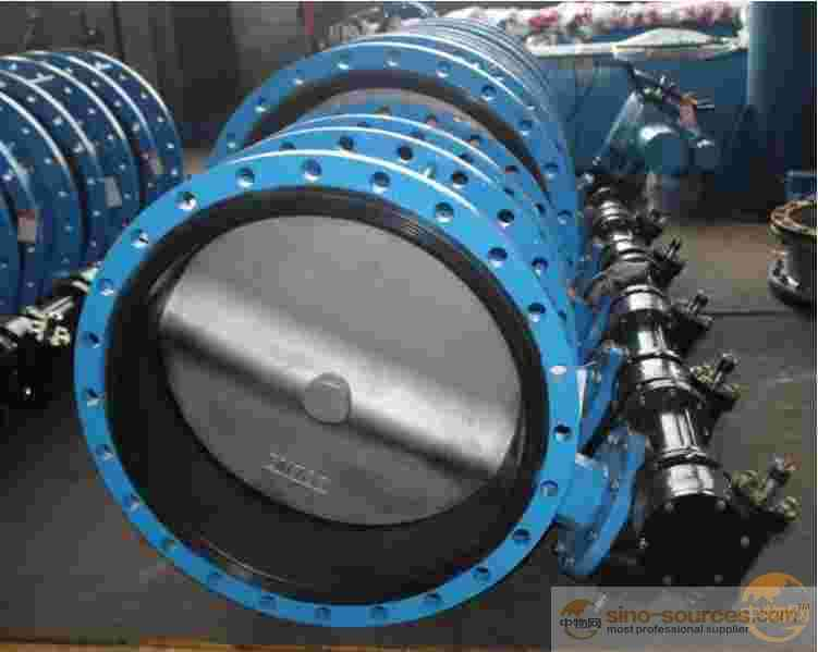 Concentric Flange Made Standard Port Butterfly Valve