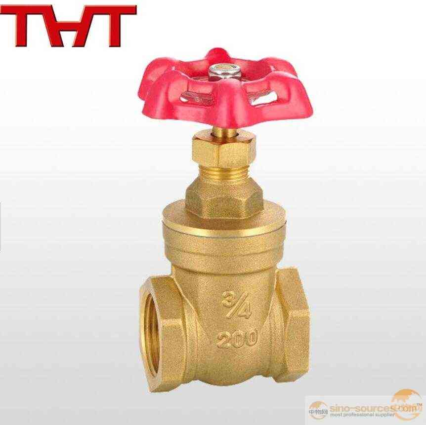 Copper Female Thread Pump Gate Valve