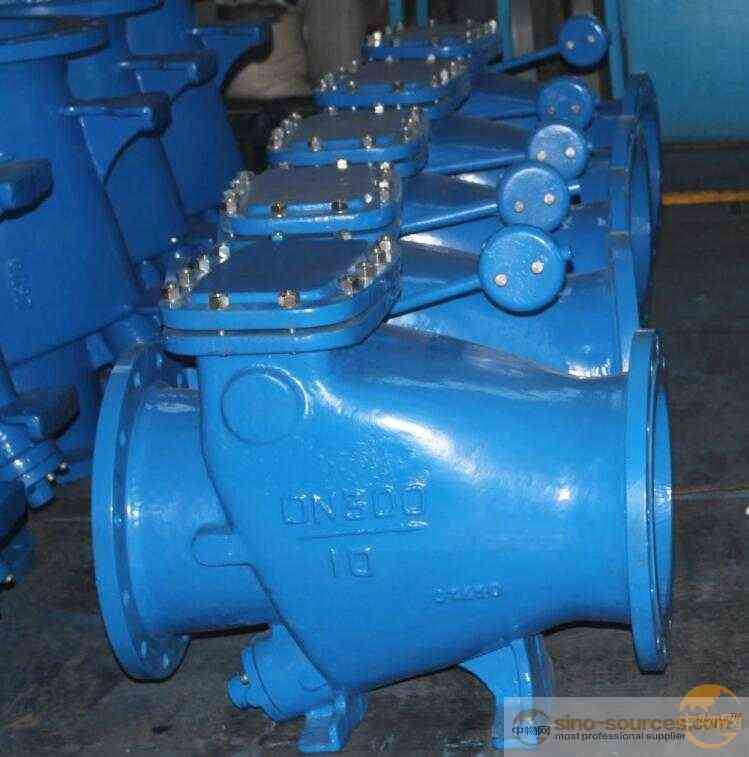 Water Pipe Flange Diaphragm Slow Closing Check Valve