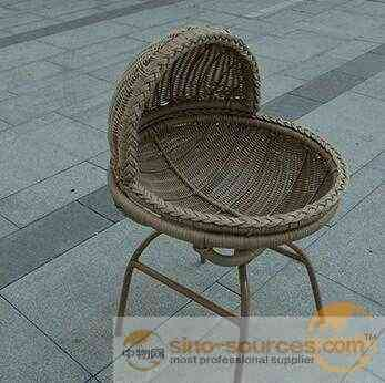 Durable Outdoor Furniture Baby Rattan Chair Seat