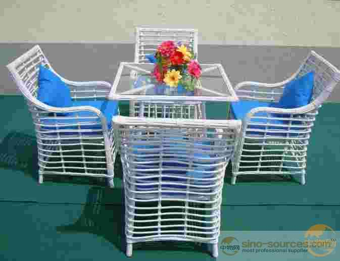 Outdoor Patio Rattan Furniture Garden Set ,Sofa Chair
