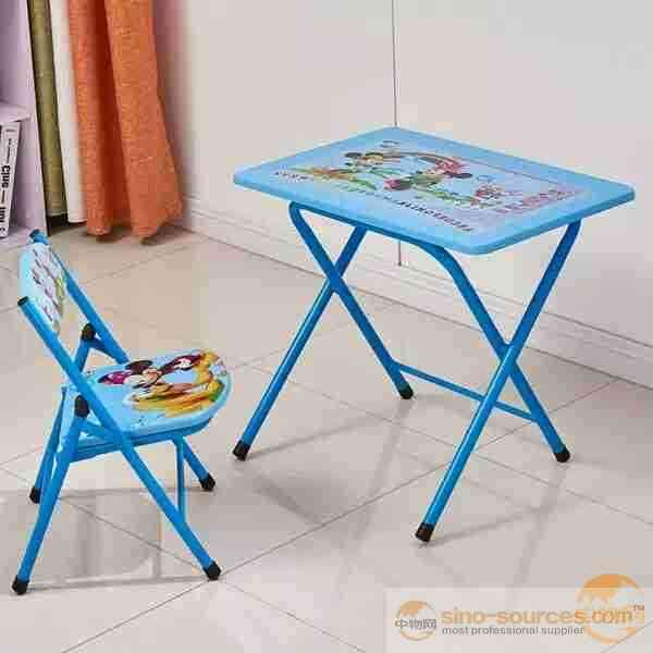 Children Study Folding Table and Chair Set