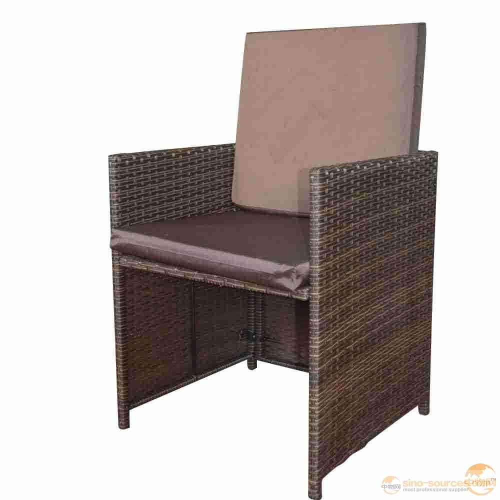 Outdoor Furniture Wicker Chair with Cushion