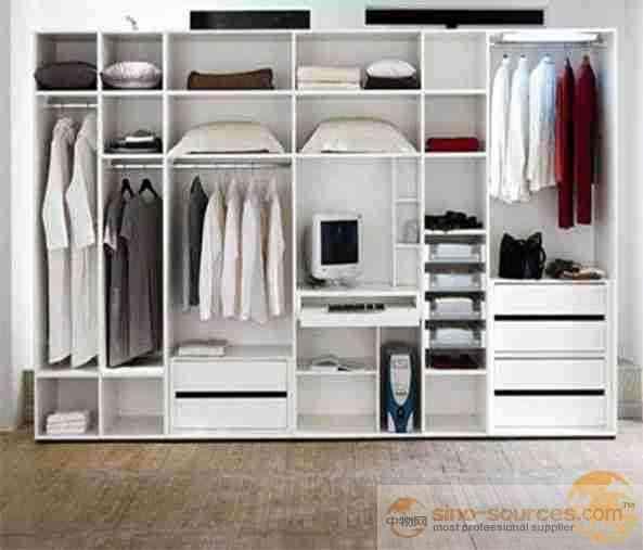 Modern Style Bedroom Wooden Cupboards